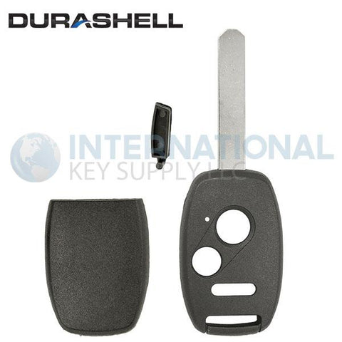 Durashell Rugged 3 Button Remote Key Shell for Honda by Keyless2Go