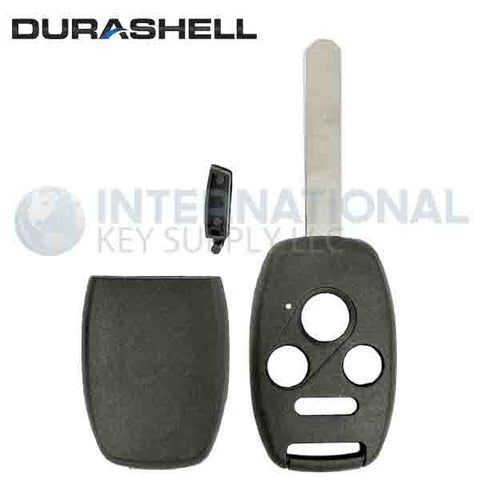 Durashell Rugged 4 Button Remote Key Shell for Honda by Keyless2Go