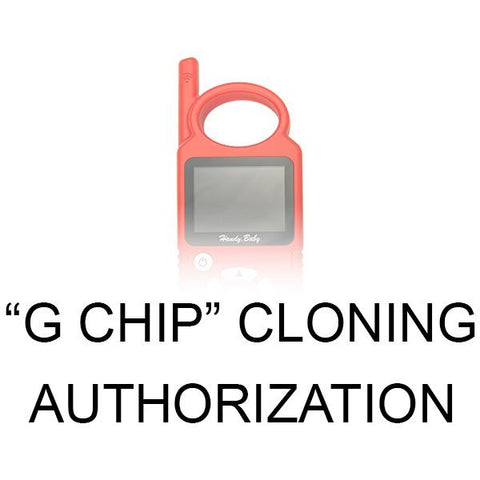 G Chip CLONING Authorization for Handy Baby