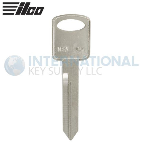 Ilco Taylor H75-NP  Ford Auto Metal Key Blank (50 Pack)
