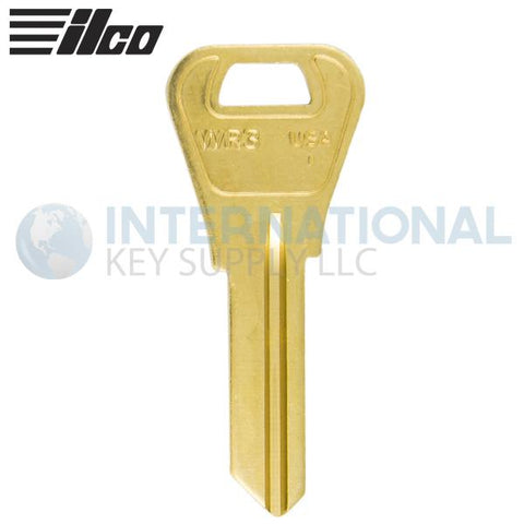 Ilco 1054WB WR3 Metal Key Blank For Weiser Locks - Bronze (50 Pack)