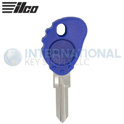 Ilco ZD23RT5-SI Cloning Key With Transponder