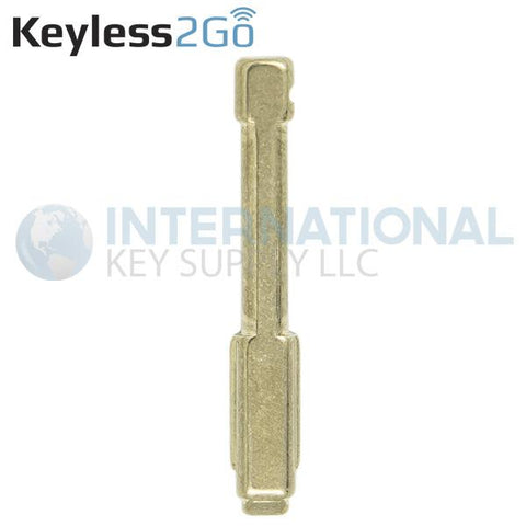 Keyless2Go Replacement Switch Key Tibbe Blade for Jaguar Flip Key