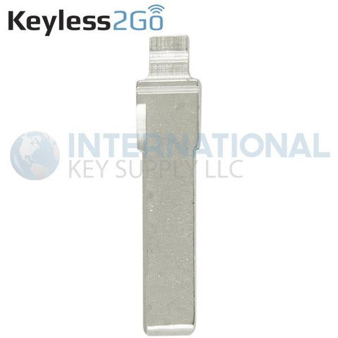 Keyless2Go Switch Blade HU66 for Audi Flip Keys MYT4073A and NBG009272T