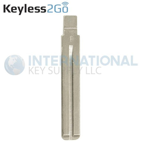 Keyless2Go Laser Cut Flip Key Blade For KIA 81996-2L001