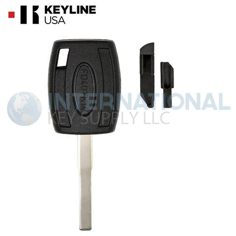 Keyline FD40BTK Transponder Key Shell for Ford H94 HU101- 5 Pack