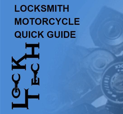 LockTech Moto Quick Guide Software for Motorcycles - 1 Year Subscription