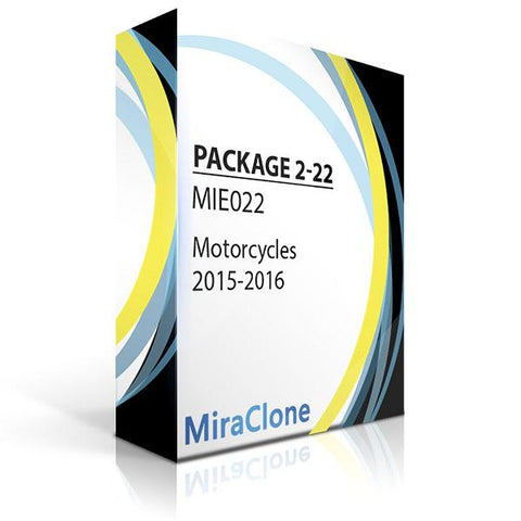 Miraclone EEPROM package 2-22 Motorcycles 2015-2016 Software