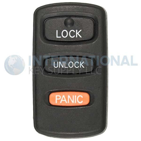 Mitsubishi 3 Button Remote Key Fob HYQ12ABA | MR587859