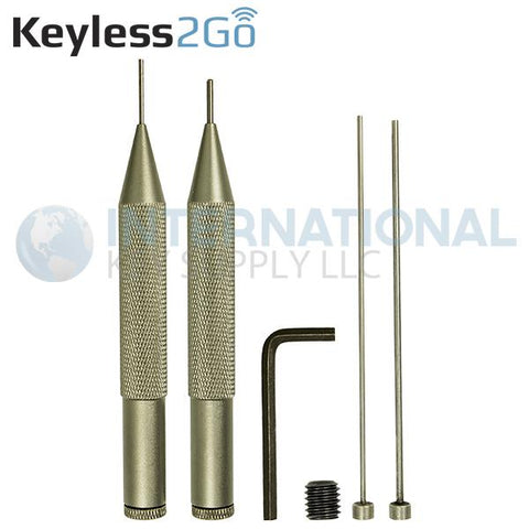 PIN Removing Tool Set for Flip Keys