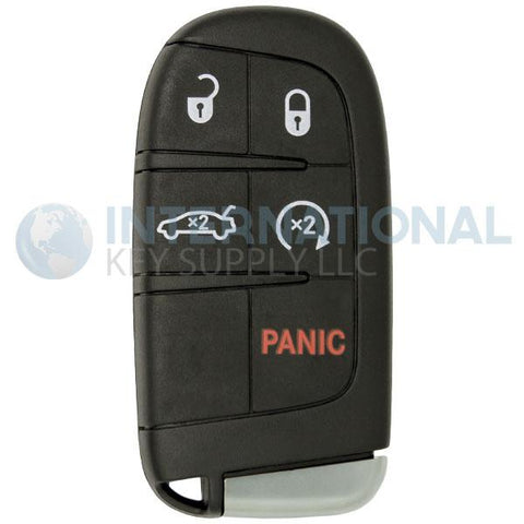 Dodge SRT Hellcat 5 Button Proximity Remote Smart Key M3N-40821302 68234957 AA - Black