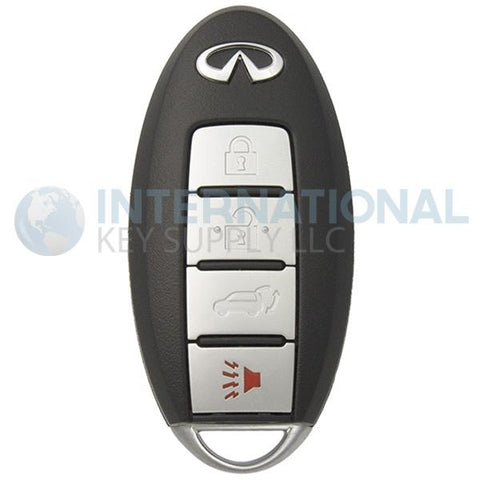 Infiniti QX56 4 Button Proximity Smart Key CWTWB1U787 | 285E3-1LL0D