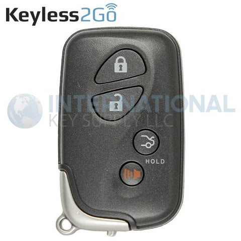 Keyless2Go 4 Button Proximity Smart Key for Lexus HYQ14AAB / Board 0140 / 89904-30270