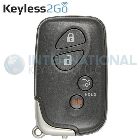 Keyless2Go 4 Button Proximity Smart Key for Lexus HYQ14AAB / E-Board / 3370