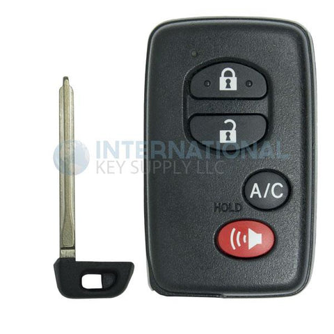 Toyota Proximity 4 Button Remote with A/C Button HYQ14AAB (E Board) 89904-47420