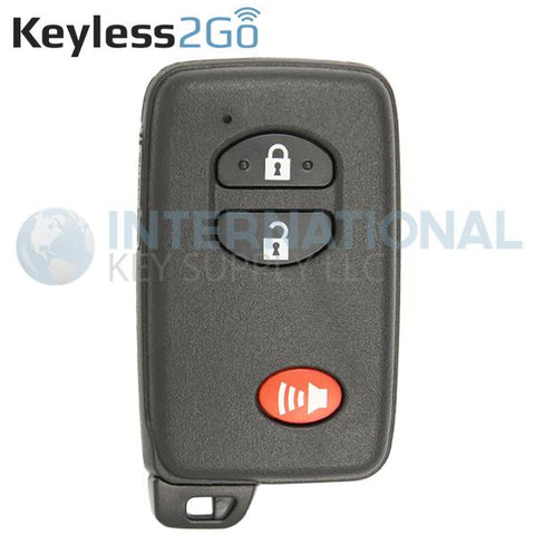 Keyless2Go 3 Button Proximity Smart Key for Toyota HYQ14AAB / Board 0140