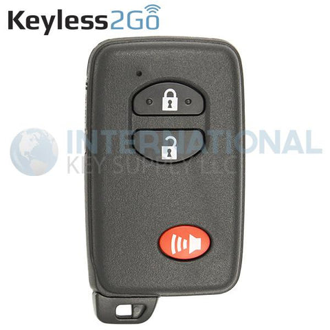 Keyless2Go 3 Button Proximity Smart Key for Toyota HYQ14AAB / E-Board 3370