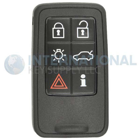 Volvo 6 Button Proximity Smart Key KR55WK49226 (without Insert Blade)