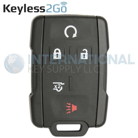 Keyless2Go 5 Button Replacement Remote 315 Mhz for M3N-32337100 13580081