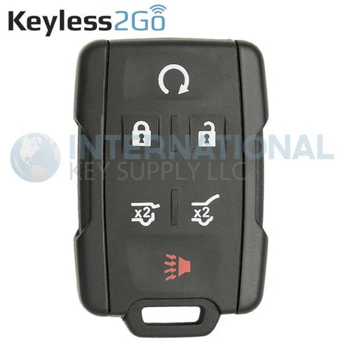 Keyless2Go 6 Button Replacement Remote 315 Mhz for M3N-32337100 13577766