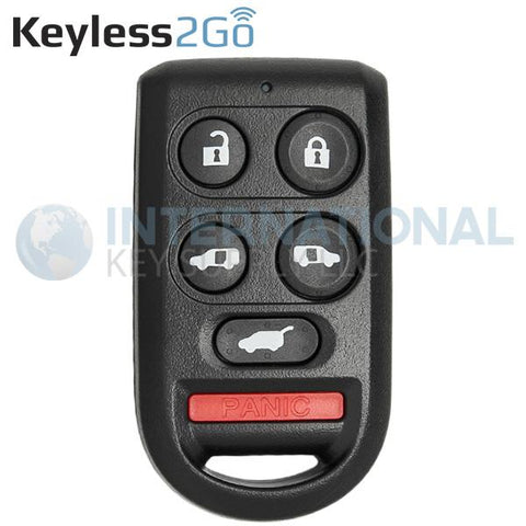 Keyless2Go 6 Button Remote For Honda OUCG8D-399H-A / 72147-SHJ-A61