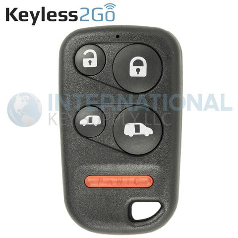 Keyless2Go 5 Button Remote Key Fob for Honda OUCG8D-440H-A / 72147-S0X-A02