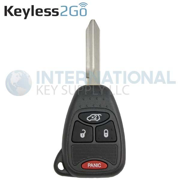 Keyless2go Jeep Liberty Chrysler Pacifica Remote Head Key