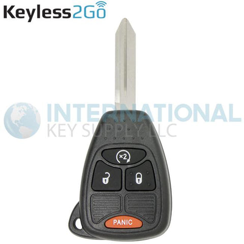 Keyless2Go 4 Button Remote Head Key OHT692713AA