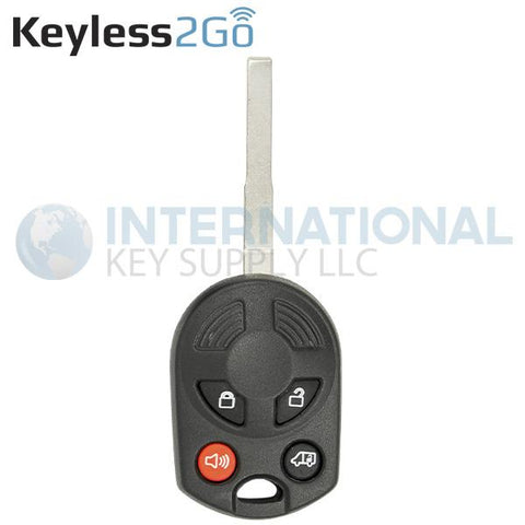 Keyless2Go Ford Transit 4 Button High Security Remote Key NON-TRANSPONDER
