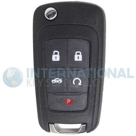 Buick  GM Genuine 13585206 5 Button Flip Key PEPS