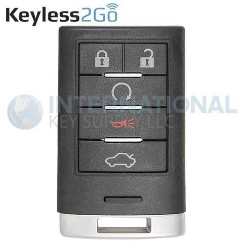 Keyless2Go 5 Button Proximity Smart Key For Cadillac M3N5WY7777A