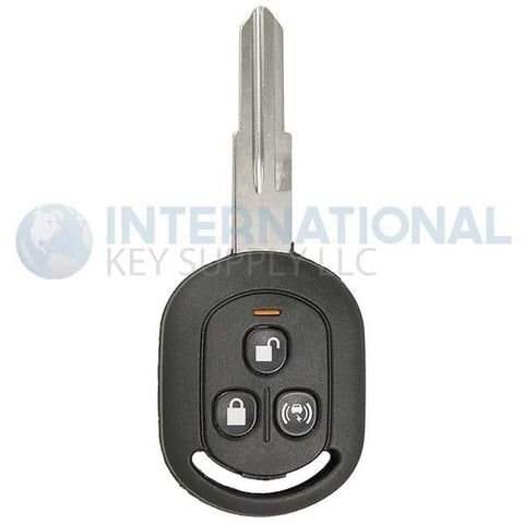 Chevrolet Aveo Hatchback 3 Button Remote Head Key VQQRK960NAT (Non-Transponder)