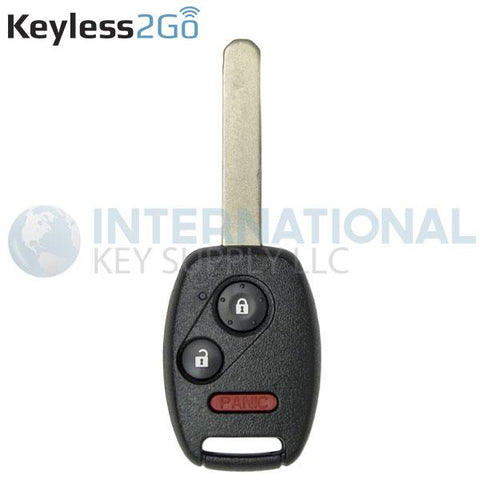 Keyless2Go 3 Button Remote Head Key OUCG8D-380H-A (8E CHIP)