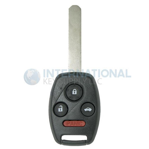 Honda 4 Button Remote Key OUCG8D-380H-A / 35118-SDA-A11