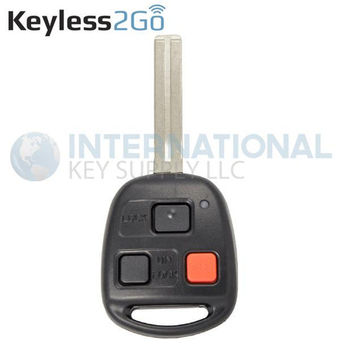 Keyless2Go 3 Button Remote Key For Lexus N14TMTX-1 / 89070-48020