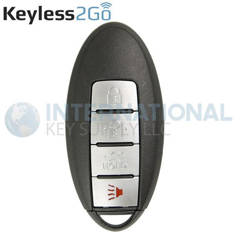 Keyless2Go 4 Button Proximity Smart Key KR5S180144014 / IC 204 / 285E3-9HS4A
