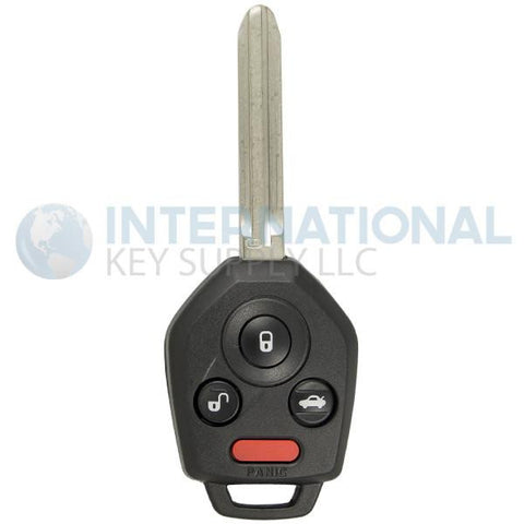 Subaru 4 Button Remote Key Combo CWTWBU811 / B110 / G Chip
