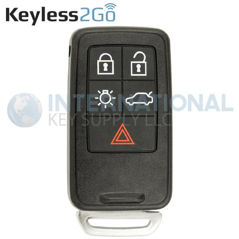 Keyless2Go 5 Button Proximity Smart Key For Volvo KR55WK49264 (Without PCC)