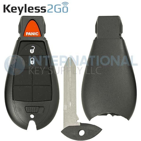Keyless2Go SHELL for 3 Button Remote Fobik Key GQ4-53T