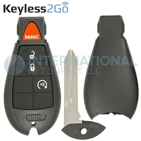 Keyless2Go SHELL for 4 Button Remote Fobik Key GQ4-53T