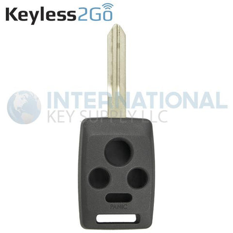 Keyless2Go 4 Button Remote Key Shell for Subaru CWTWBU745 / DA34