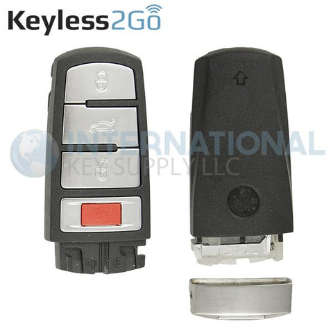 Keyless2Go Shell for Volkswagen Smart Key NBG009066T