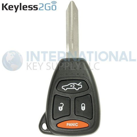 Keyless2Go 4 Button Remote Head Key KOBDT04A