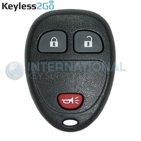 Keyless2Go GM 3 Button Replacement Remote OUC60270