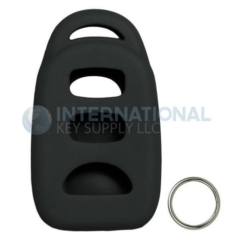 Keyless2Go Silicone Jacket Keyless Remote Cover HYKIK23 for Kia 4 Button Remote FCC ID: PINHA-T008