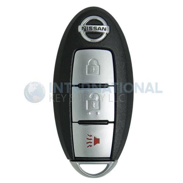 2 Pack Discount Keyless Replacement Uncut Car Remote Fob Key Combo Compatible with Nissan Pathfinder KR5S180144014