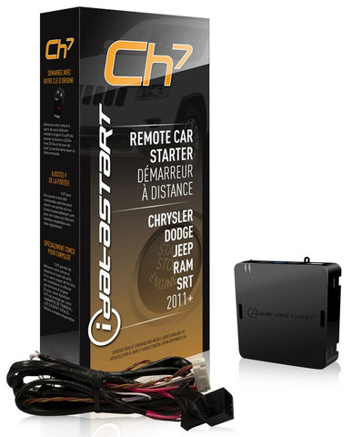 Remote Start Solution for Chrysler Tipstart and PTS Models 2011 and up