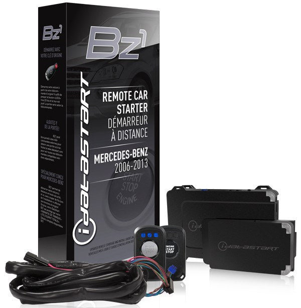 Remote start solution for select mercedes benz models 2006 for Remote starter for mercedes benz