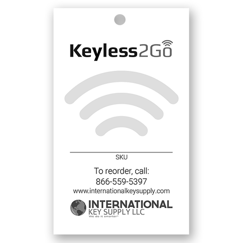 Keyless2Go Inventory Control Hang Tags Identifiers - Pack of 25
