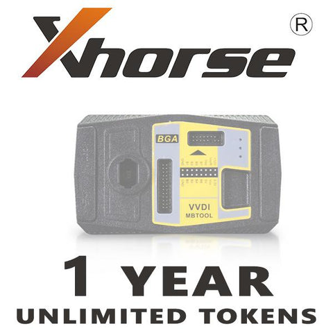 Xhorse 1 Year Unlimited Tokens for VVDI MB Tool Password Calculation